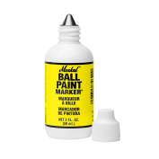 Markal Ball Paint Marker with 0.3cm Tip, Yellow