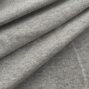 Made in USA Premium Quality Cotton Jersey Knit Fabric By The Yard- Oatmeal - 1 Yard