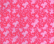 Hydrographic Film - Water Transfer Printing - Hydro Dipping -Pink Ribbon - 1 Metre