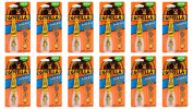 Gorilla 7500101-12 Super Glue Brush and Nozzle (12 Pack), 10 g, Clear