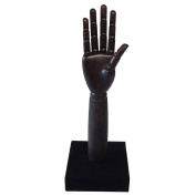 Kukin Wooden mannequin hands, Female hand model for jewellery display