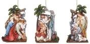 Roman Inc. 13cm Nativity Ornament - Christmas Figurines Ornaments Holidays 36923-ROMAN