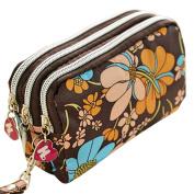 Bodhi2000® Womens Girls Wallet Zipper Clutch Bag Card Holder Purse