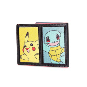 Pokemon Starter Pokemon Wallet with Pikachu Charmander Bulbasaur Squirtle