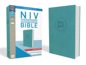 NIV, Value Thinline Bible, Large Print, Imitation Leather, Blue, Comfort Print [Large Print]