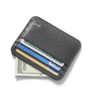 BVP Genuine Leather Slim Credit Card Case Wallet