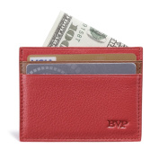 BVP Genuine Leather Slim Wallet Card Cover