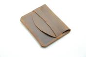 JJNUSA hand made old Genuine Leather Card Case Credit Fashion Card Holder Wallet