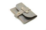 JJNUSA hand made Leathe Wallet Credit Card Minimalist Design old wallet