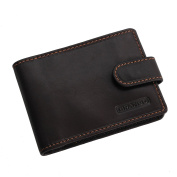 Branco Unisex AdultBusiness Card Holder , BROWN (Brown) - 0