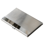 Bluelans® Stainless Steel Business Name Credit ID Card Organiser Card Case