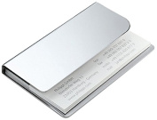 Business Card Holder Stainless Steel Philippi Face