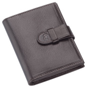 STAEDTLER Premium Chevreau Business Card Holder - Brown