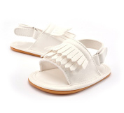 New Tassel Non - Slip Baby Sandals Rubber Baby Shoes Breathable Shoes