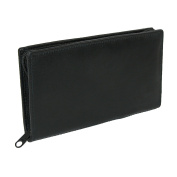 Paul & Taylor Leather Zippered Chequebook Cover and Wallet
