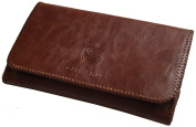 GERMANUS Tobacco Pouch from Artleather, Leather free - Made in EU - Atrobrunus