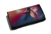 High Quality Faux Leather Tobacco Pouch - Michael Jackson