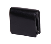 Luxury Real Leather Coin Tray Wallet Pouch Pocket Change Case HOL124