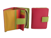 Multi-coloured Zip Purse/Wallet style 7-142