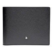 Montblanc Coin Purse , BLACK (Black) - 113215