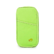 Ready2Go ducomi® Travel Wallet for Passport, Tickets at hand Multicolour Green