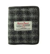 Mens Authentic Harris Tweed 100% Wool Lewis Wallet - LB2006