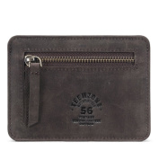 RFID Protection Leather Wallet Credit Card Holder Coin Pouch - Slim Wallet for Women / Men