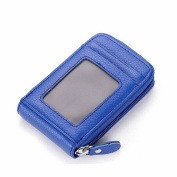 GOOTRADES Unisex Leather Credit Card Holder Coin Change Purse Wallet Case Clutch