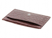 Montblanc Credit Card Holder Burgundy bordeaux