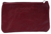 Italian Soft Leather Zipped Purse, Coin Purse or Debit Credit Card Holder.