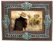 LL Home 12992 Turquoise Concho 15cm x 10cm Photo Frame