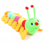 50CM Colourful Caterpillar Toy Soft Pillow Doll Toy Cute Baby Toddler Birthday Gift Child Development Toys
