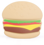 Uniqi Baby Toddler Kids Hamburger and Chips Teether