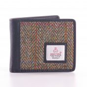 Country Green Harris Tweed Bi-Fold Wallet