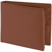 RFID Blocking Italian Leather Mens Bifold Wallet by Access Denied