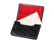 SAGEBROWN Magnetic Business Card Holder