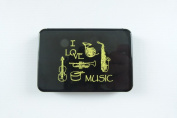 PartyErasers Music Themed Music Instrument design Business Cards Holder Plastic Case