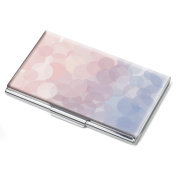 Lilac Serenity Rose Business Card Holder by Troika