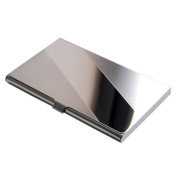 Sanwood Stainless Steel Case Pocket Business ID Credit Card Holder