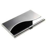 Sanwood Stainless Steel Case Pocket Business ID Credit Card Holder