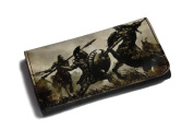 High Quality Faux Leather Tobacco Pouch - Fighting Gladiators