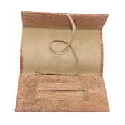 Boshiho® Natural Cork Roll Up Tobacco Pouch Eco-friendly Baccy Holder