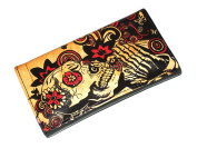 High Quality Faux Leather Tobacco Pouch - Santa Muerte