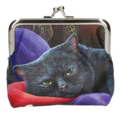 Lisa Parker Coin Purse - The Jester - Black Cat Purse
