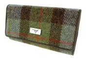 Ladies Authentic Harris Tweed 100% Wool Tiree Purse - LB2106