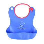 Soft Waterproof Baby Bibs Adjustable Easy Wipe Clean Toddler Bib for Infants and Parents