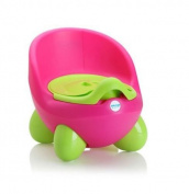 Secure Non-slip Comfortable Seat Sink Chair Toilet Trainer Baby Egg Potty Potty Chair, Baby Potty, Children's Potty by LuvdBaby | Removable, Easy Clean, Inner Potty with Lid | High Back Rest, Comfortable Ergonomic Design | Non-Slip Feet | 2 Funky Desig ..