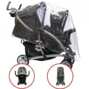 Replacement Pvc Raincover to fit the Graco Quatro Tour Duo Tandem Twin