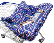 FREE GIFT FOR A LIMITED TIME!! Most Stylish Shopping Cart Cover for your Baby. Suitable for Grocery Carts & Restaurant High Chairs. See Details for Free Gift