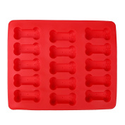 VALINK Dog Bone Dog Footprint Shape Silicone Baking Mould No-stick Baking Pan Mat, Biscuit Cake Cookies Chocolate Soap Bakeware Mould Kitchen Craft Tools - 30*25*2cm